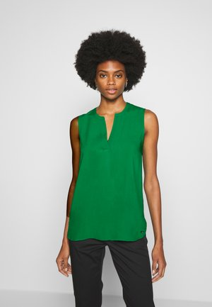 NECK DETAIL - Blouse - fresh bright green