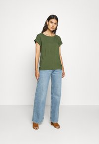TOM TAILOR DENIM - WITH BACK DETAIL - Bluser - dusty rifle green - 1