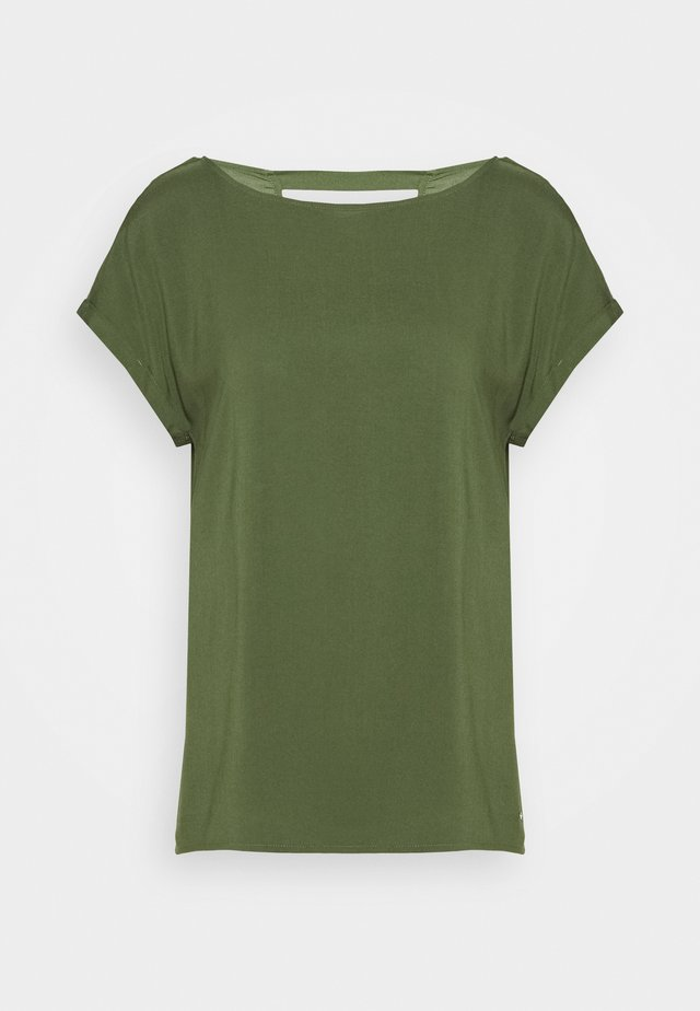 Bluse - dusty rifle green