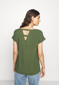 TOM TAILOR DENIM - WITH BACK DETAIL - Bluser - dusty rifle green - 2