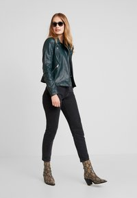 TOM TAILOR DENIM - Faux leather jacket - sycamore green - 1