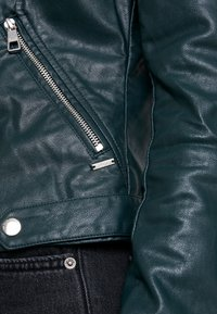 TOM TAILOR DENIM - Faux leather jacket - sycamore green - 5