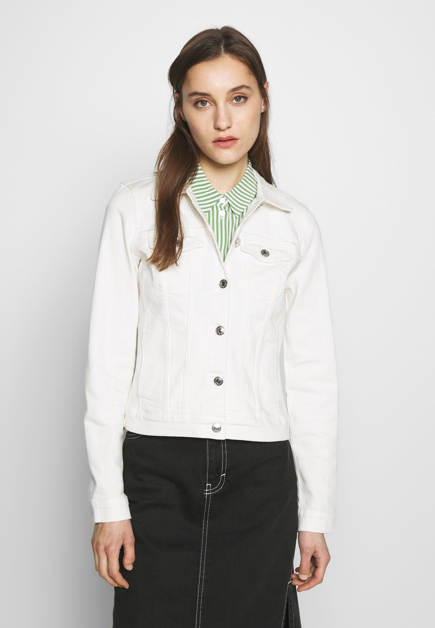 Tom Tailor Denim Riders Jacket - Kurtka Jeansowa White