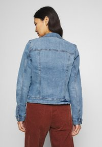 TOM TAILOR DENIM - RIDERS JACKET - Jeansjakke - light stone blue denim - 2