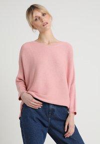 TOM TAILOR DENIM - OTTOMAN - Stickad tröja - blush pink - 0