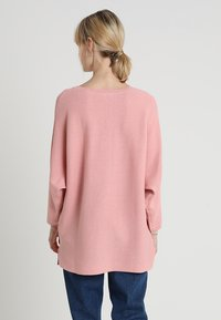 TOM TAILOR DENIM - OTTOMAN - Stickad tröja - blush pink - 2