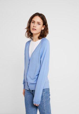 EASY CARDIGAN - Chaqueta de punto - fresh blue