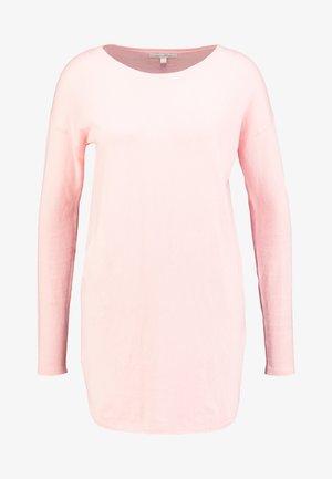 EASY LONG - Sweter - blush pink