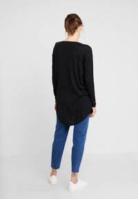 TOM TAILOR DENIM - EASY LONG - Svetr - deep black - 2