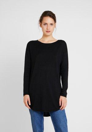 EASY LONG - Jersey de punto - deep black