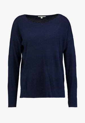 STRUCTURED - Trui - real navy blue