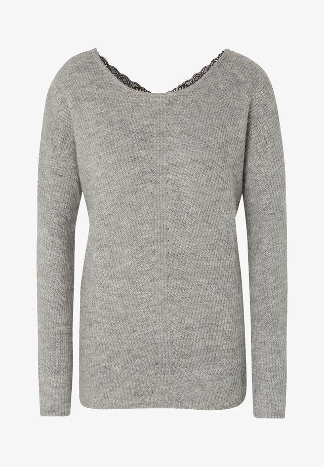 COSY - Jersey de punto - light silver grey mélange