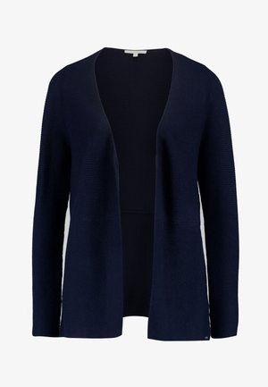 CARDIGAN WITH STRUCTURE - Cardigan - real navy blue