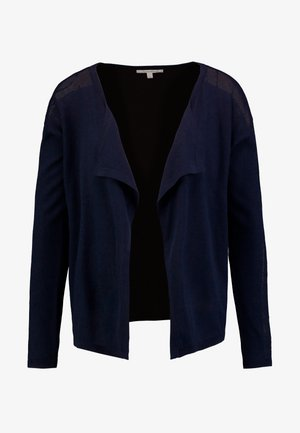 CARDIGAN WITH STRUCTURE - Vest - real navy blue