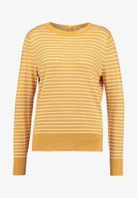 TOM TAILOR DENIM - EASY STRIPE - Sweter - yellow - 3