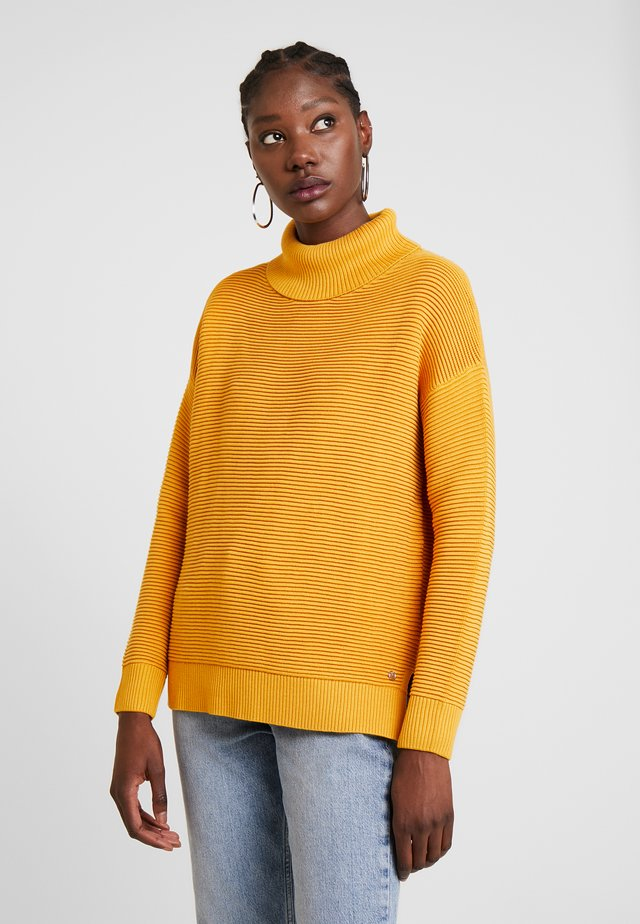 OTTOMAN TURTLE NECK - Jumper - sunflower