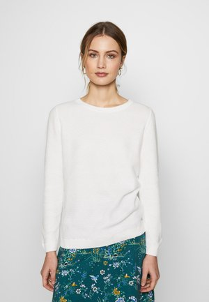 HONEYCOMB - Sweter - off white