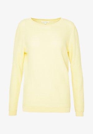 HONEYCOMB - Sweter - pale yellow