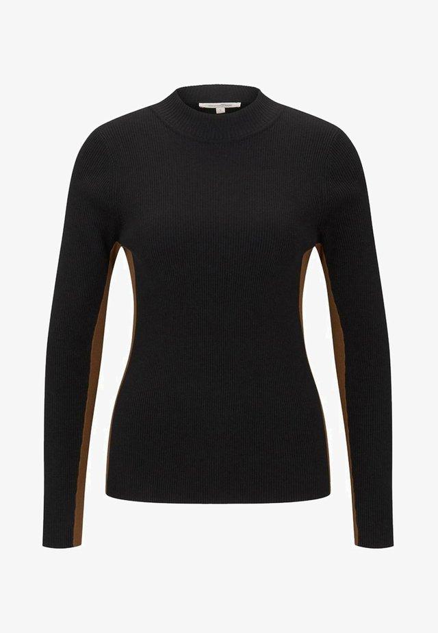 Jersey de punto - deep black