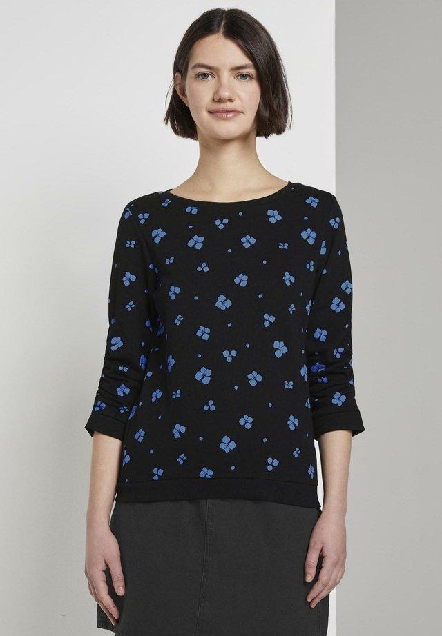 Jersey de punto - black/blue