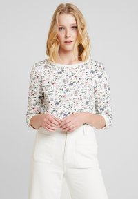 TOM TAILOR DENIM - FLOWER  - Sweatshirt - off white - 0