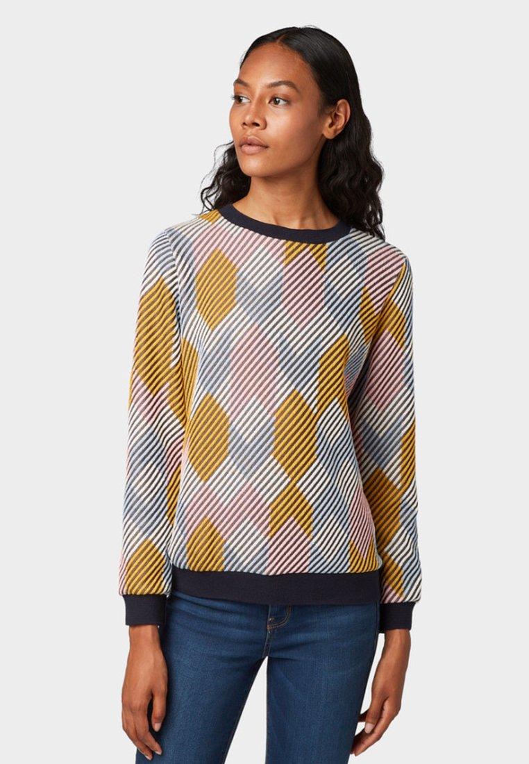 TOM TAILOR DENIM - Sweatshirt - multi-coloured