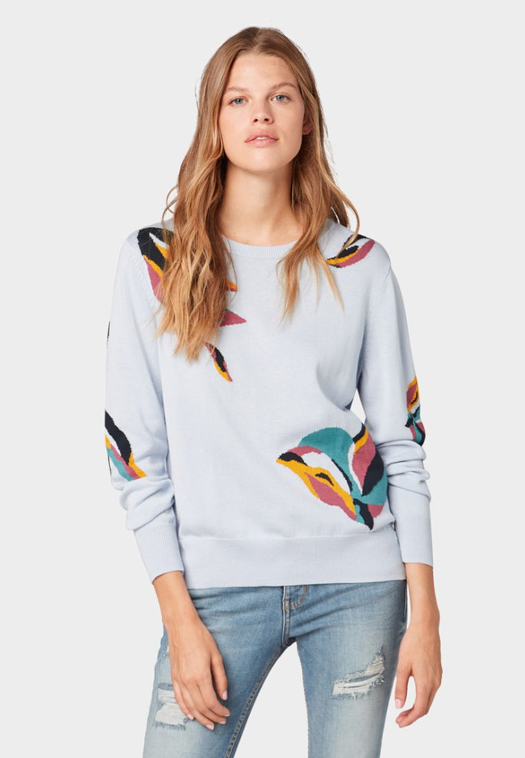 TOM TAILOR DENIM - Sweatshirt - fresh icy blue