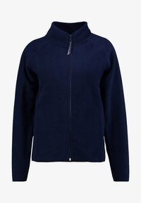 TOM TAILOR DENIM - JACKET - Fleecová bunda - real navy blue - 4