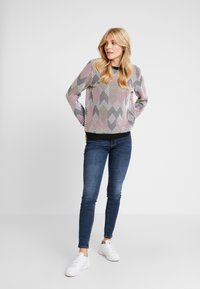 TOM TAILOR DENIM - COLORED - Sweatshirt - rose/beige/brown - 1