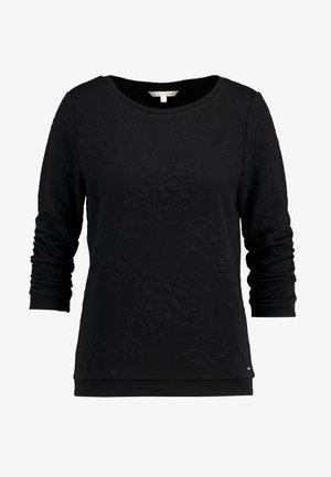 FLOWER - Sweater - black