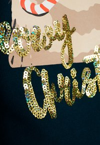 TOM TAILOR DENIM - CHRISTMAS - Sweatshirt - sapphire green - 5
