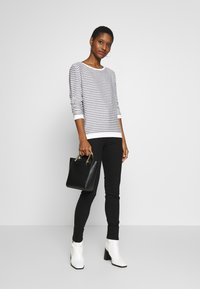 TOM TAILOR DENIM - STRIPED - Longsleeve - white - 1