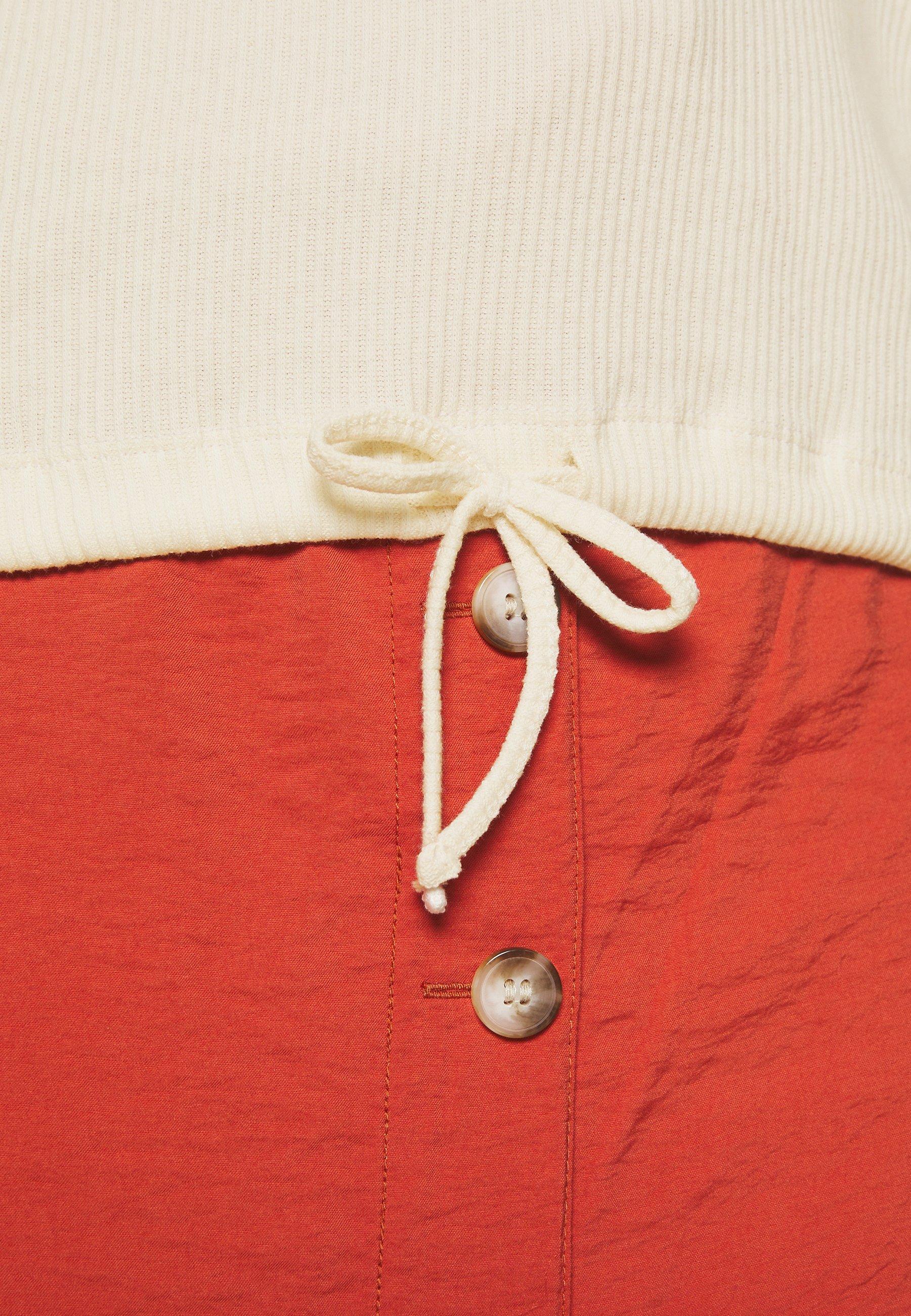 Tom Tailor Denim Longsleeve Buttons - Long Sleeved Top Gardenia White