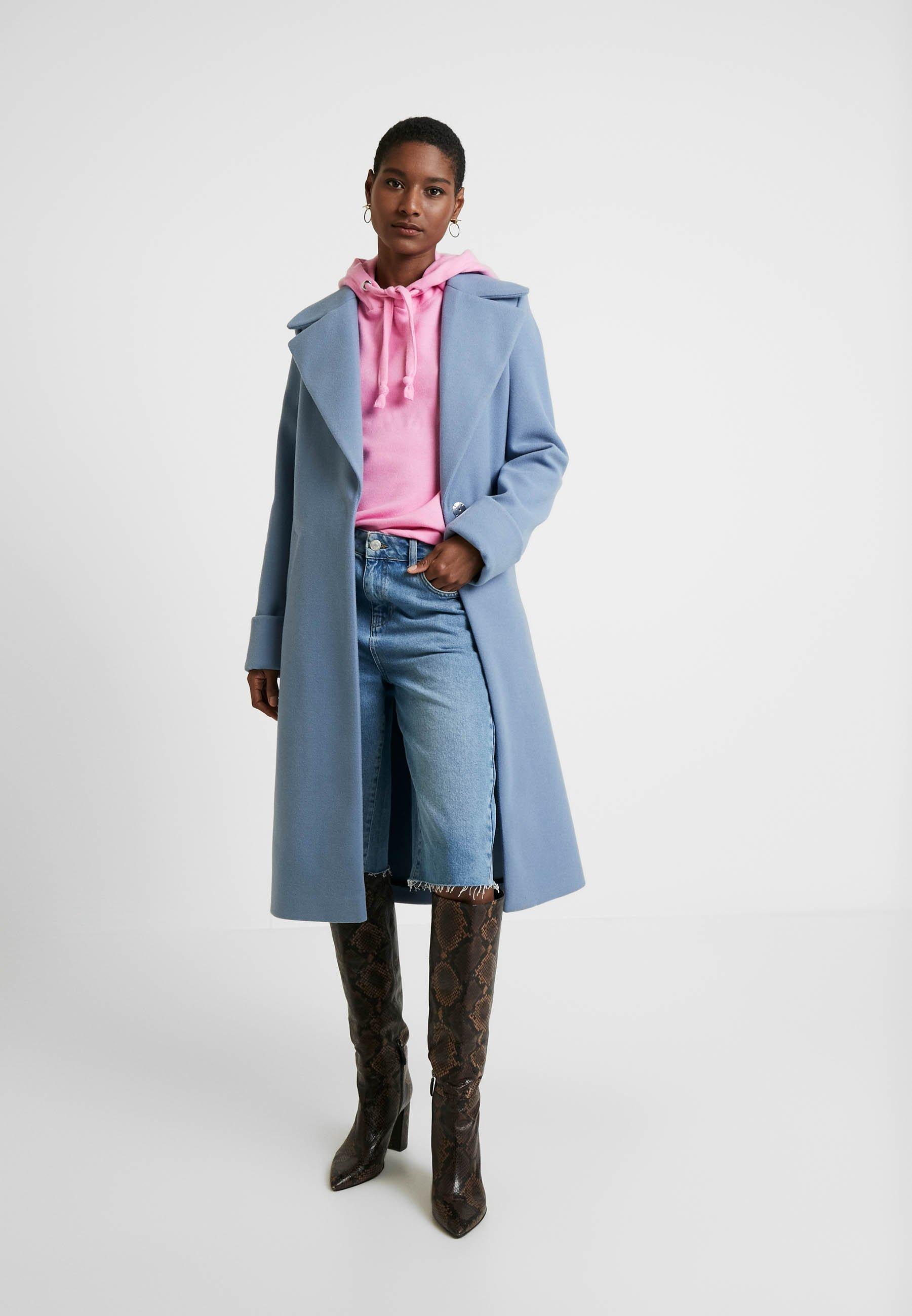 TOM TAILOR DENIM COSY HOODIE - Bluza z kapturem - wild orchid pink