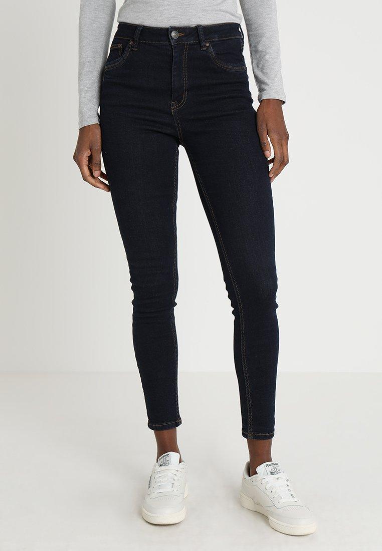 TOM TAILOR DENIM - JANNA - Slim fit jeans - clean rinsed blue denim