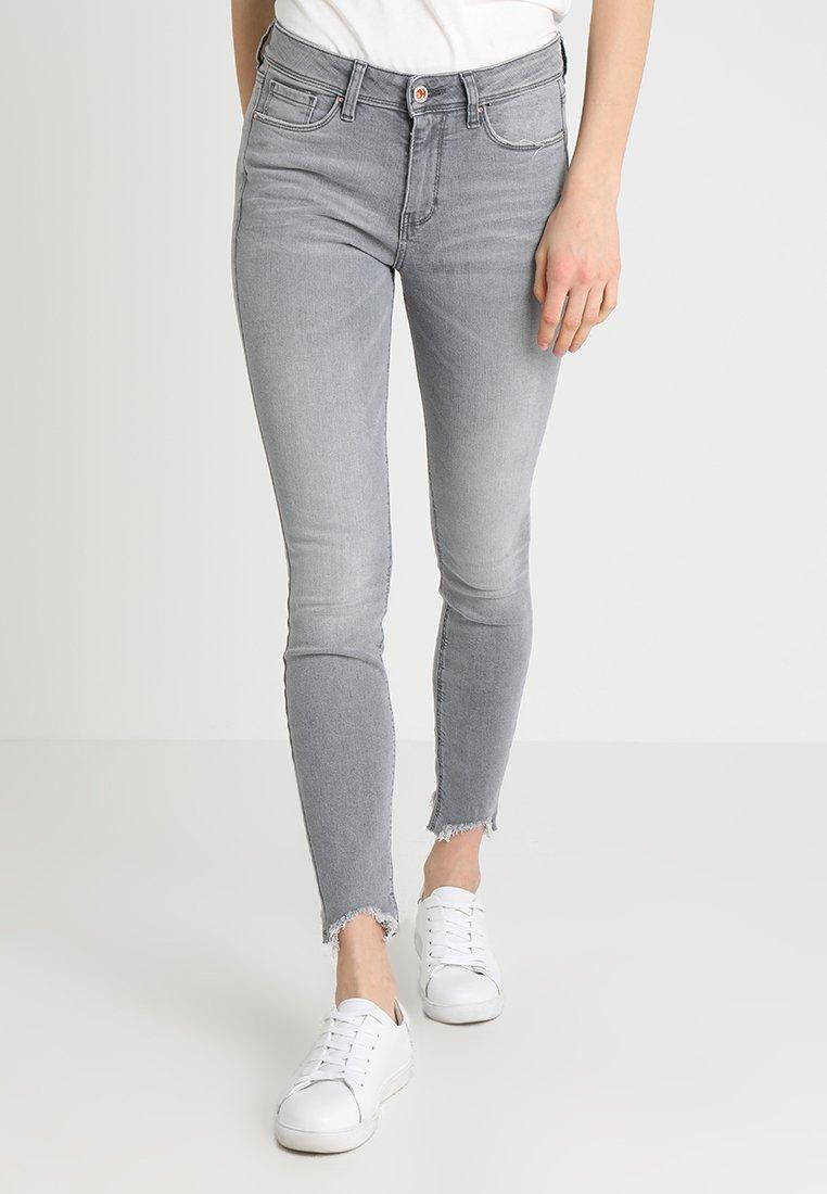 TOM TAILOR DENIM - NELA - Jeans Skinny Fit - light stone grey denim