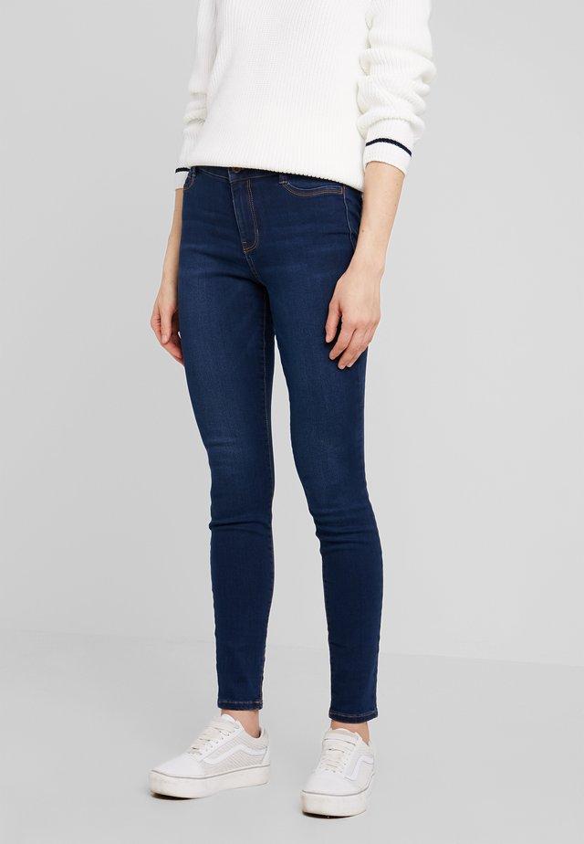 NELA - Jeans Skinny Fit - dark stone wash denim