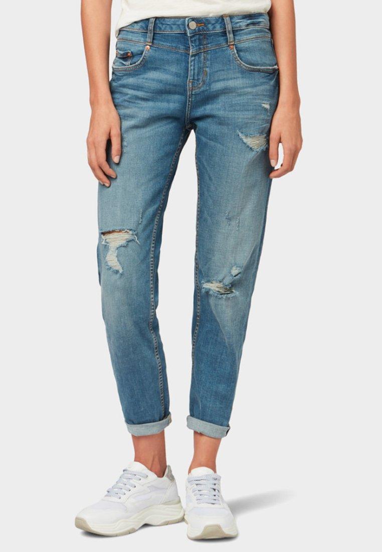 TOM TAILOR DENIM - LIVA - Straight leg jeans - blue