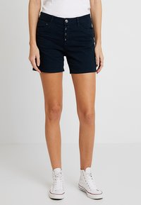 TOM TAILOR DENIM - CAJSA - Jeans Short / cowboy shorts - sky captain blue - 0