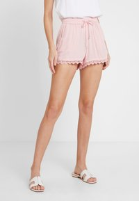 TOM TAILOR DENIM - RELAXED - Shorts - blush pink - 0
