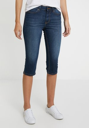 NELA - Shorts vaqueros - dark stone wash denim         blue