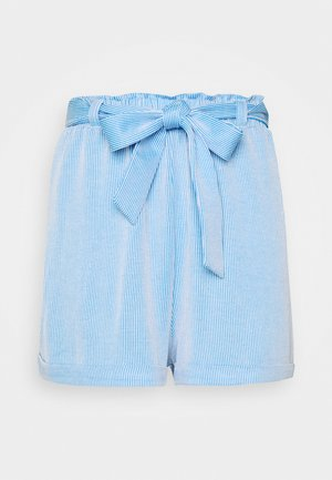 STRIPED  - Shortsit - blue/white