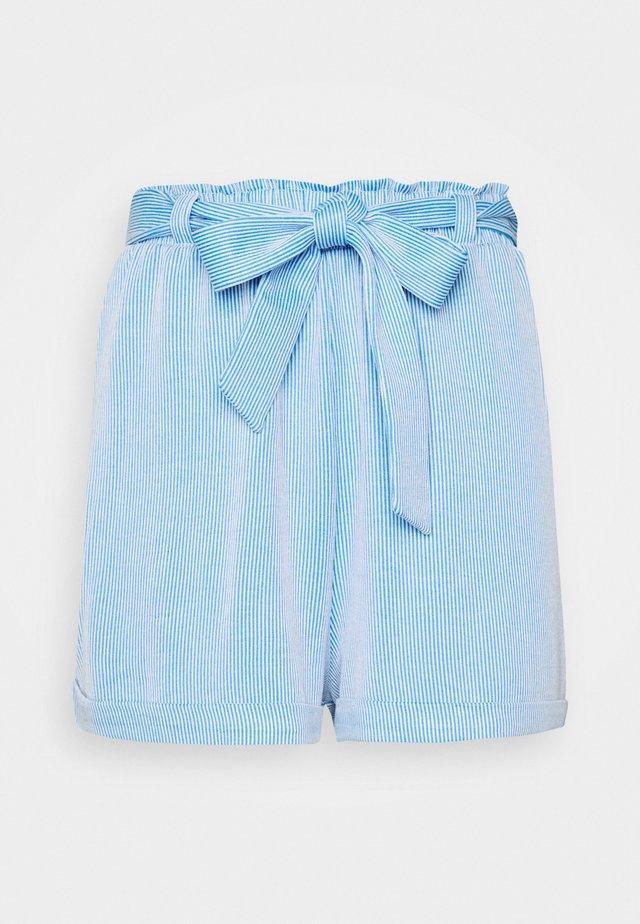 STRIPED  - Szorty - blue/white