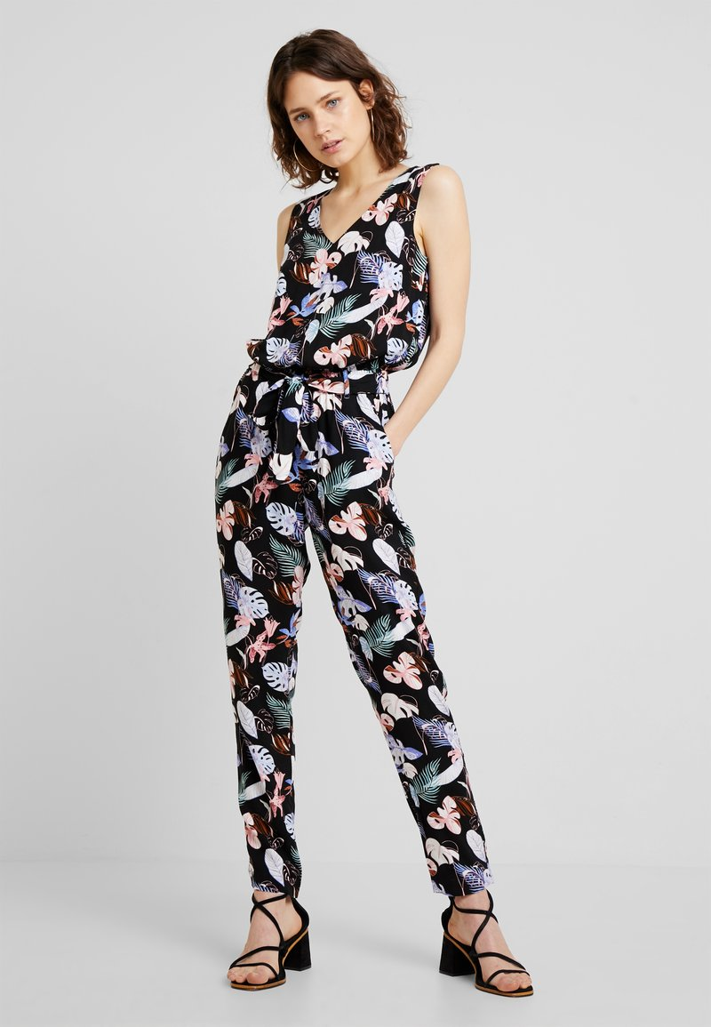 TOM TAILOR DENIM - RELAXED OVERALL - Jumpsuit - black