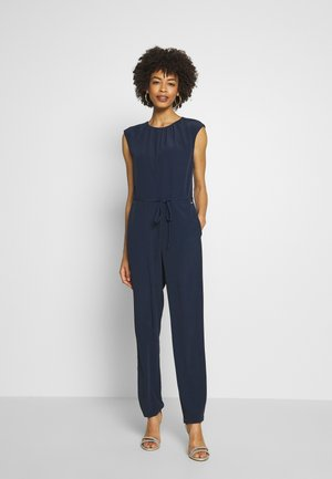 FESTIVE OVERALL - Tuta jumpsuit - real navy blue