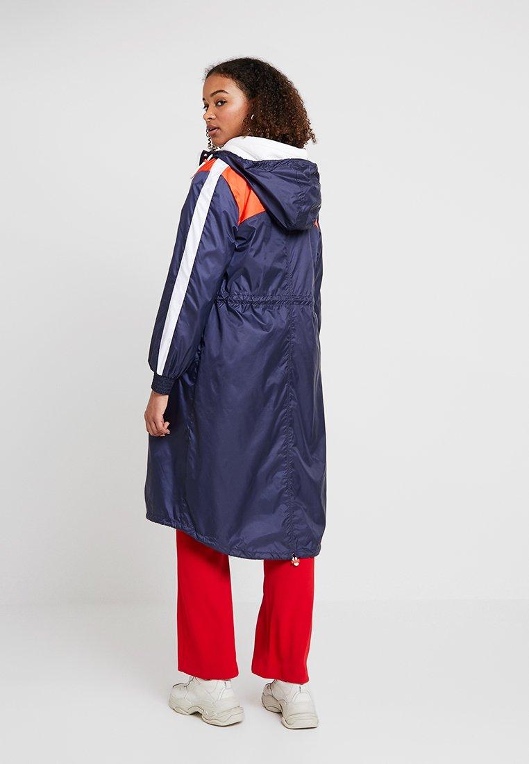 Tom Tailor Denim Parachute Coat - Parka True Dark Blue