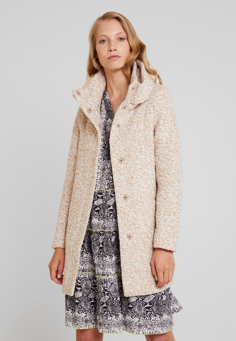 TOM TAILOR DENIM - COAT - Short coat - camel