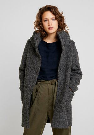 COAT - Short coat - light tarmac grey melange