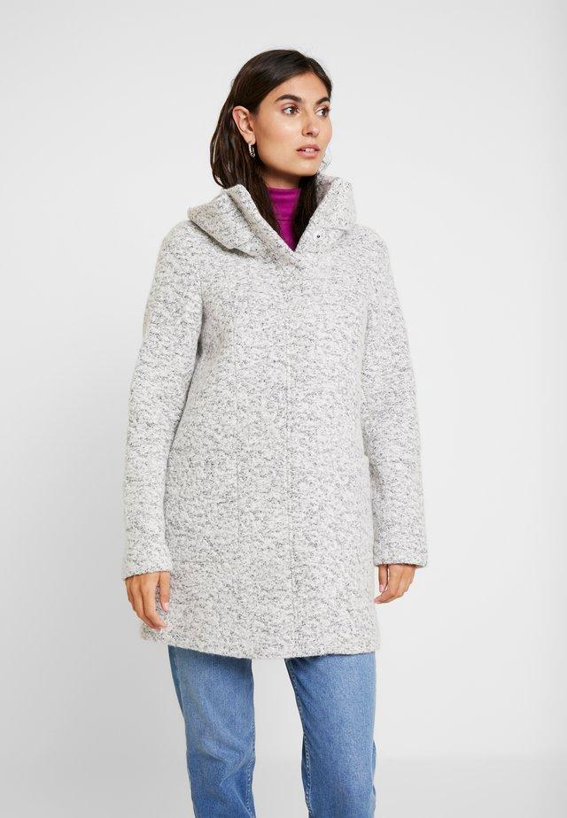 COAT - Cappotto corto - grey black