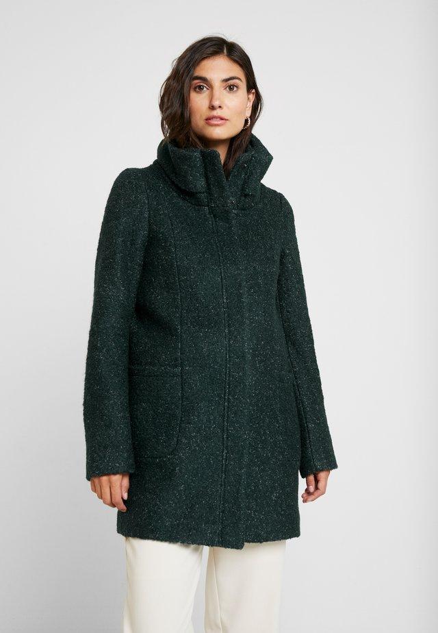 COAT - Krátký kabát - green black